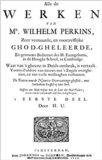 Alle de Werken  | W. Perkins
