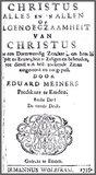 Christus alles en in allen Eduard Meiners_