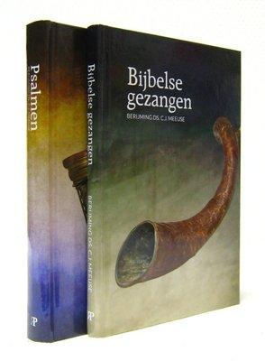 Psalmen en gezangen en Bijbelse gezangen (voordeelpakket | ds. C.J. Meeuse