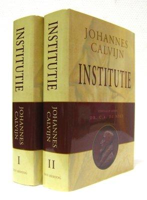 Institutie, 2 delen | Johannes Calvijn