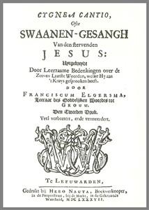 Swaanen-Gesangh van den stervenden Jesus