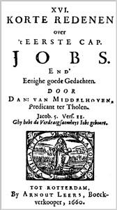 XVI Korte Redenen over 't boek Job