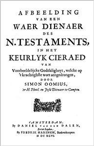 Afbeelding van een waer dienaar des N.Testaments