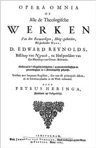 Opera Omnia - D. Edward Reynolds