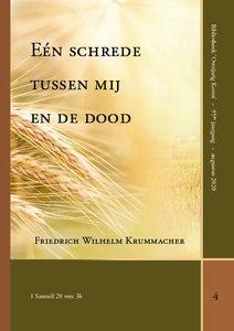 Een schrede tussen mij en de dood | F.W. Krummacher