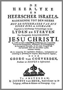 George van Coeverden | De Heerlyke en Heerscher Israels