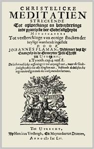 Johannes Flaman   Christelijcke Meditatien