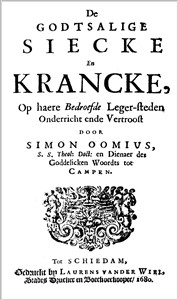 Simon Oomius | De Godtsalighe Siecke en Krancke