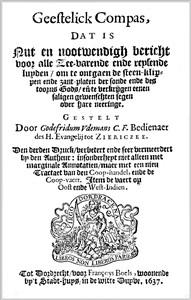 Godefridus Udemans | Geestelick Compas