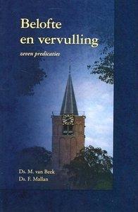Belofte en vervulling   ds. M. van Beek
